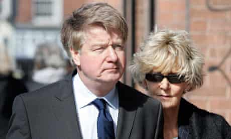 Brian and Mary O'Donnell arrive at the high court 2012