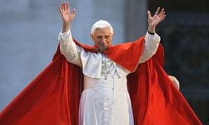 Pope Benedict … a high priest of fashion.