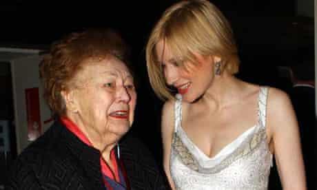 Nancy Wake with Cate Blanchett