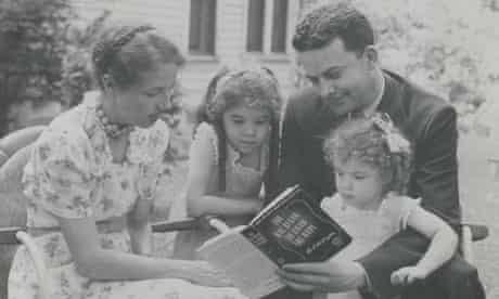 Sue Grafton and family