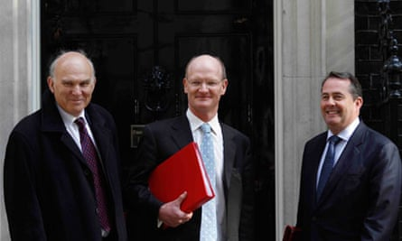 Vince Cable Liam Fox  David Willets