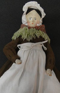 Wooden doll made by a workhouse inmate