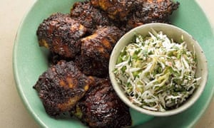 yotam ottolenghi: jerk-spiced chicken