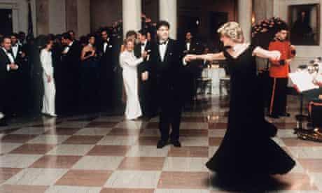 Princess Diana And John Travolta Daning