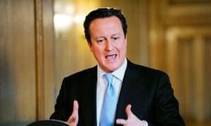 David Cameron Talks Between The Parties Over Leveson Press Reform Proposals Have Broken Down