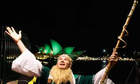 An Irish expatriate celebrates St Patrick's Day in Sydney