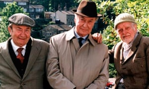 Frank Thornton in Last of the Summer Wine
