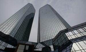 Deutsche Bank's headquarters, in Frankfurt.