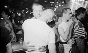Gay Couple Dancing at Nightclub