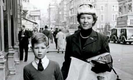 Molly Drake and Nick shopping.