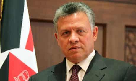 King Abdullah is said to have criticised the Muslim Brotherhood