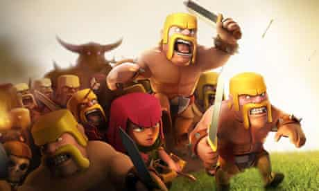 Clash of Clans rampaged onto Android smartphones and tablets in 2013.