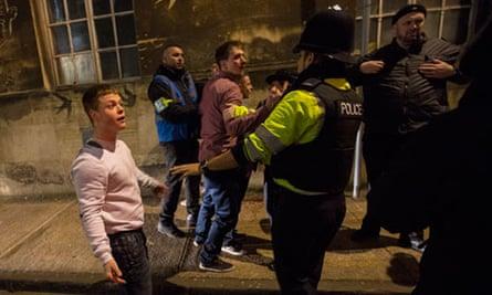 Officers in Bristol