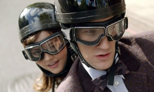 Matt Smith and Jenna-Louise Coleman in Doctor Who.