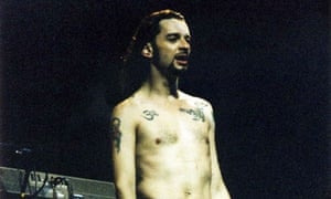 I lost myself in the character within the songs … David Gahan in 1993 in London.