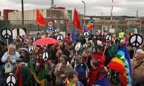 Aldermaston anti-nuclear protests