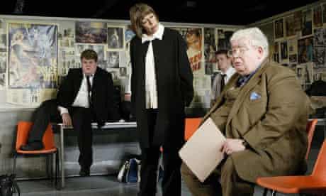 James Corden, Frances de la Tour and Richard Griffiths in The History Boys, 2005.