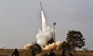 Iron Dome rockets