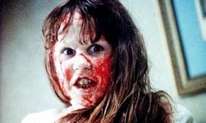Film: Linda Blair in The Exorcist