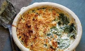 Hugh Fearnley-Whittingstall's creamed sea beet gratin
