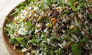 Yotam Ottolenghi's buckwheat and rice salad