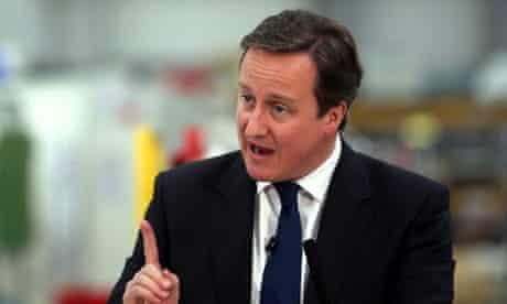 Cameron speech on economy
