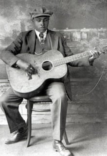 Blues legend Blind Willie McTell.