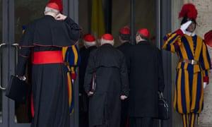 Cardinal congregation