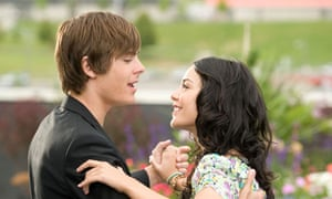 Zac and Vanessa in the innocent, heady days of High School Musical 3.