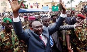 Central African Republic leader Michel Djotodia