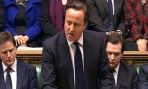 Baroness Thatcher tribute David Cameron
