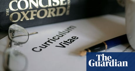 academic cvs 10 irritating mistakes education the guardian