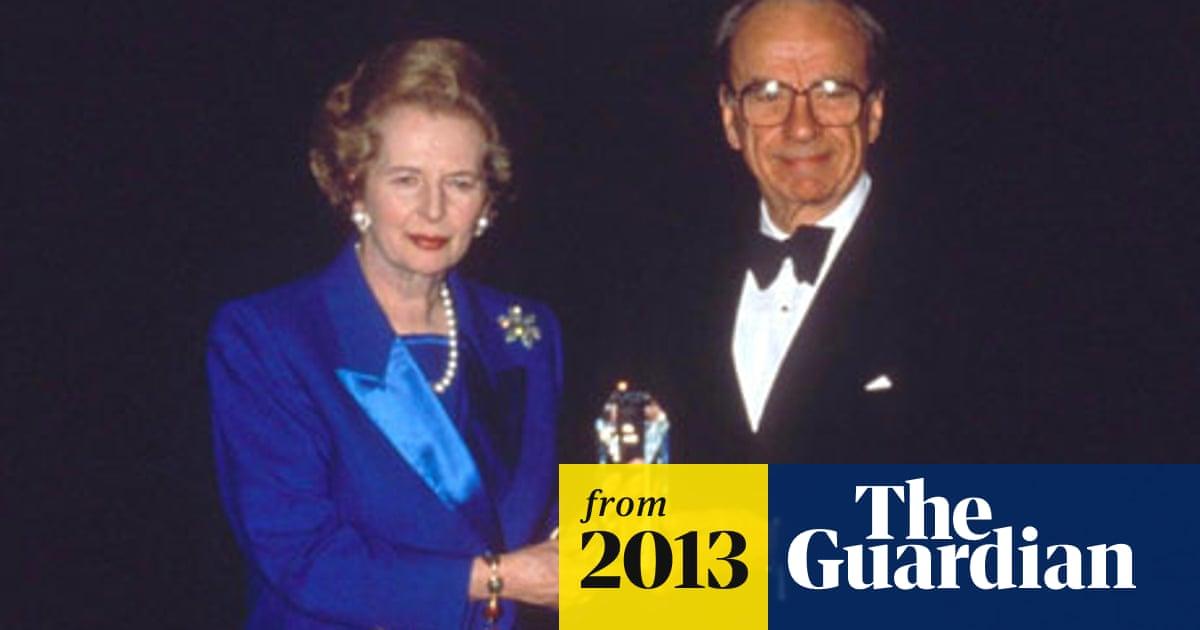 Rupert Murdoch May Not Attend Margaret Thatcher Funeral Media The Guardian