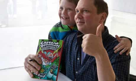 Dav Pilkey, author of the Captain Underpants