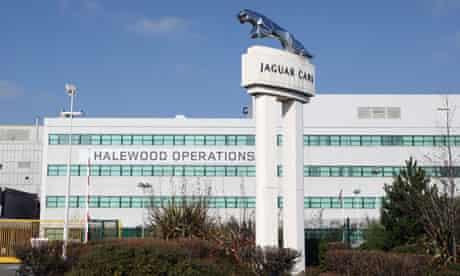 Business Secretary visits Jaguar Land Rover