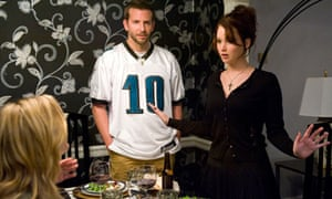 Bradley Cooper and Jennifer Russell in Silver Linings Playbook