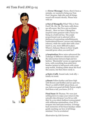 Fashion by Numbers blog, Beth Druce