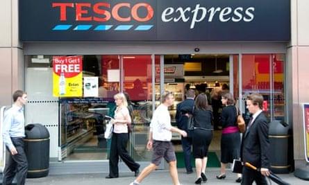 London branch of Tesco