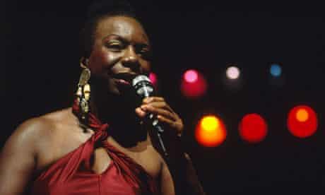 Nina Simone performing in Paris