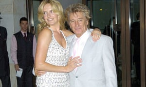 Rod Stewart and Penny Lancaster-Stewart