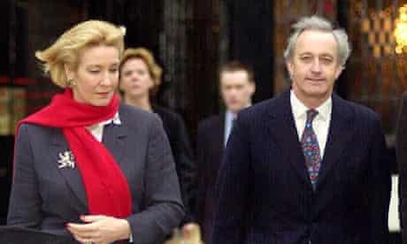 NEIL HAMILTON AND HIS WIFE CHRISTINE
