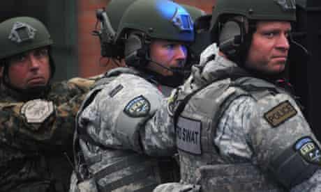 Watertown Swat police