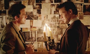 Doctor Who … Dougray Scott and Matt Smith in Hide.