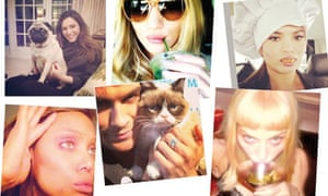 Celebrity instagram pictures …  a cultural motif of your time …