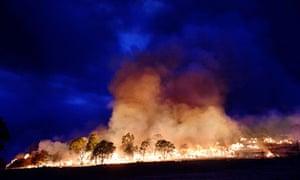 Bushfires at Grampians National Park, Victoria, Australia - 18 Feb 2013