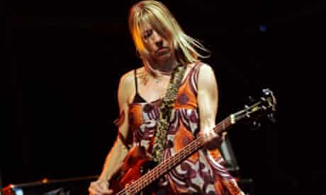 Kim Gordon, singer and bass of rock band Sonic Youth
