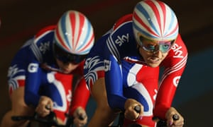 Cyclists Danielle King and Laura Trott