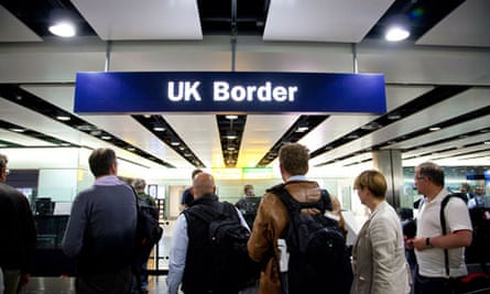 UK Border passport control