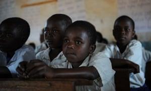 Schoolchildren in Tanzania