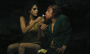 Eva Mendes and Denis Lavant